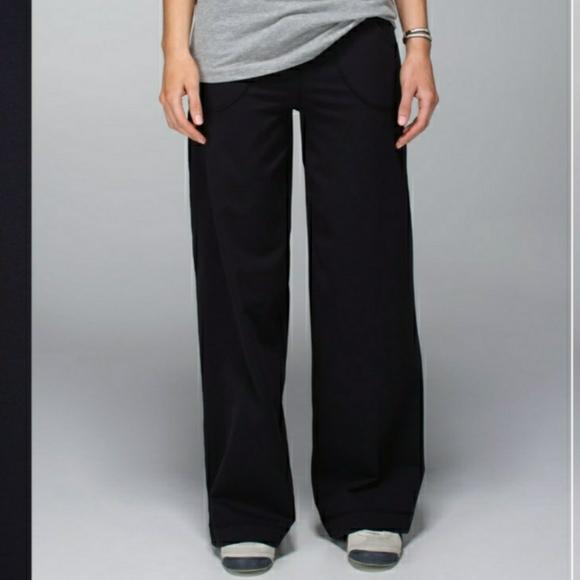 Lululemon Still Pants Black  Regular 4